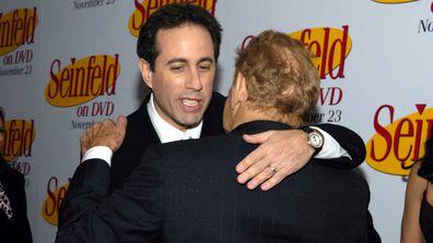 Jerry Seinfeld and Jerry Stiller.