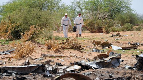 Air Algerie plane experienced sudden loss of air speed, 'broke up' on impact