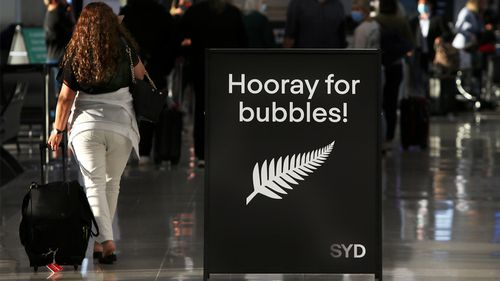 Some travel is once again opening up between Australia and New Zealand, after COVID-19 cases began to surge again in Australia during June.