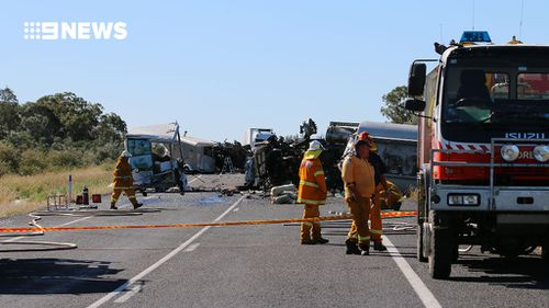 Investigations into the cause of the crash are ongoing. (9NEWS)