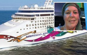 Cancer-stricken mum stranded on cruise ship banned from docking at multiple ports