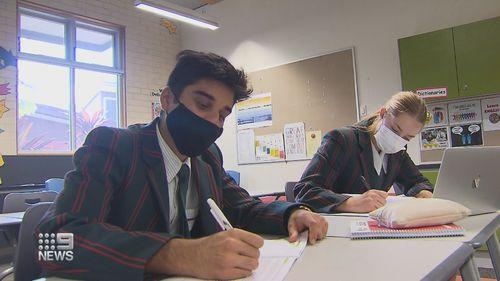 Queensland schools masks