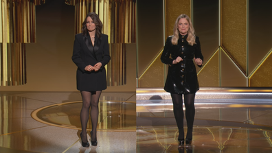Tina Fey and Amy Poehler host the 78th Golden Globe Awards