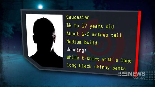 Police are hunting an offender matching this description. (9NEWS)