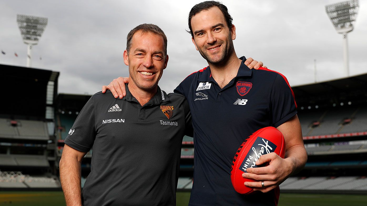 Hawks great Jordan Lewis 'shocked' at Hawthorn's Clarkson-Mitchell coaching changeover