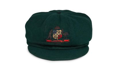 Don Bradman's 1934 baggy green to fetch $150,000 at auction