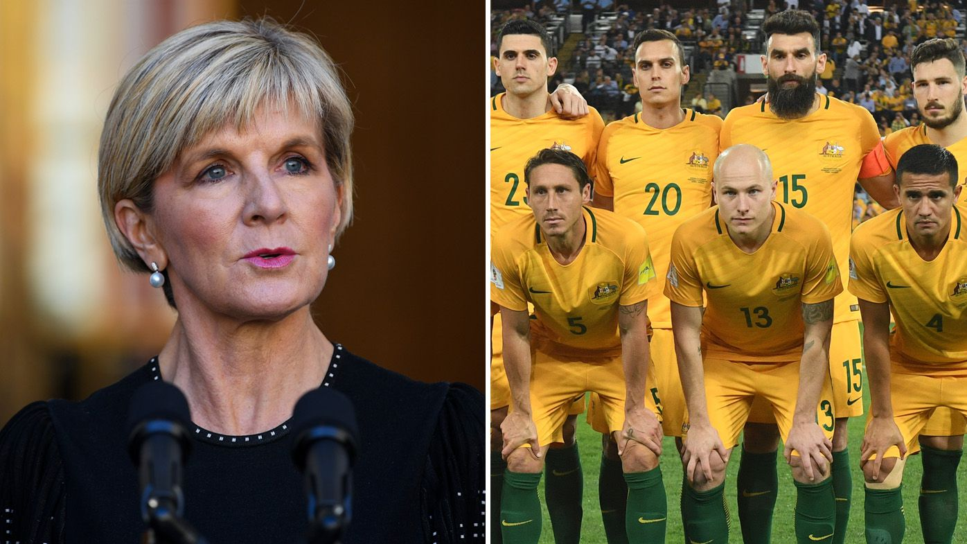 Australian Foreign Minister Julie Bishop responds to Russia World Cup boycott