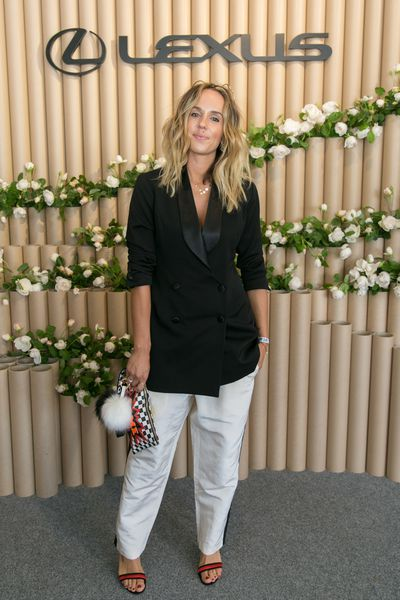 <p>3) Wear the pants</p> <p>Yes, Oaks Day is Ladies Day where ultra-feminine frocks reign supreme but abandon gender stereotypes and show that real women can wear the pants (#teamHillary).</p> <p>Pip Edwards in the Lexus marquee on Derby Day.</p>