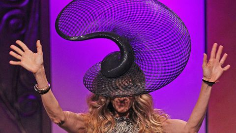 Hot or not: Sarah Jessica Parker's insane Melbourne Cup hat