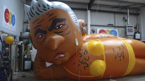 The soon-to-be-launched blimp of Sadiq Khan.