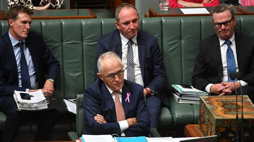 National Party MPs have been angered and deputy Prime Minister Barnaby Joyce left stunned and betrayed by a public dressing down by Prime Minister Malcolm Turnbull yesterday (AAP).