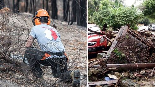 Team Rubicon Australia is a disaster response group in the Pacific Rim made up of veterans.