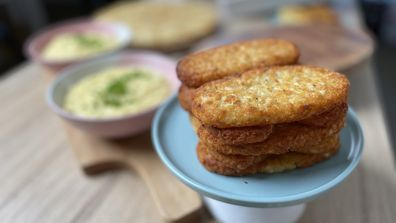 Crispy hash browns need space in the oven