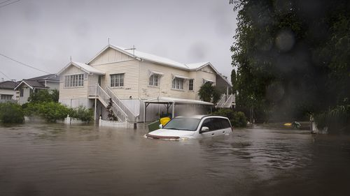 The flooding in Rosslea.