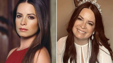 Charmed cast then and now.