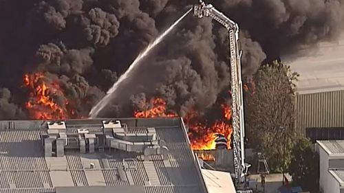 Firefighters are en-route to the scene. (9NEWS)