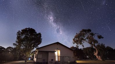 """<b>It was an impressive sight for stargazers who managed to capture photos of the annual Geminid meteor shower last night.</b><br><br> This image of the celestial firework display was taken in Gippsland in Victoria. (Picture: <a href=""""http://www.andrewnorthover.com.au"""">www.andrewnorthover.com.au</a>) <br><br> Click through the gallery to see more photos of the meteor shower. Send your pictures to <a href=""""mailto:contact@9news.com.au"""">contact@9news.com.au</a>."""