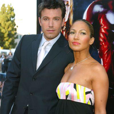 Ben Affleck and Jennifer Lopez: February 2003