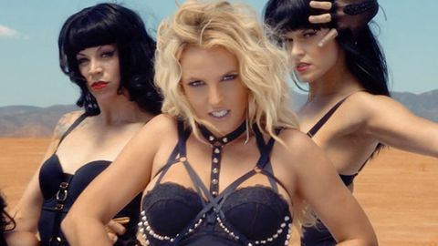 Britney pushed into sexing up image for 'Work Bitch' video: 'I cut out half of it because I'm a mother'
