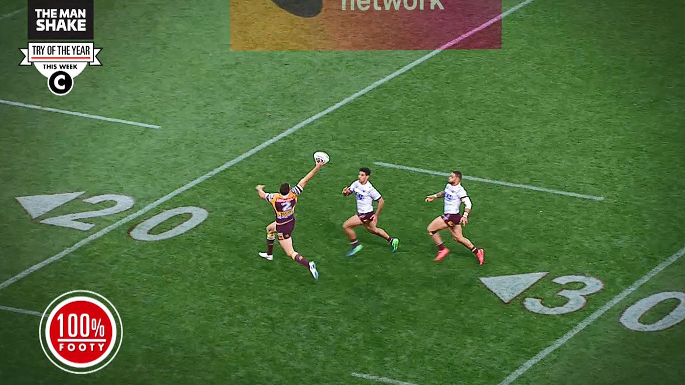 MUST WATCH: Man Shake try of the Year NRL Round 25