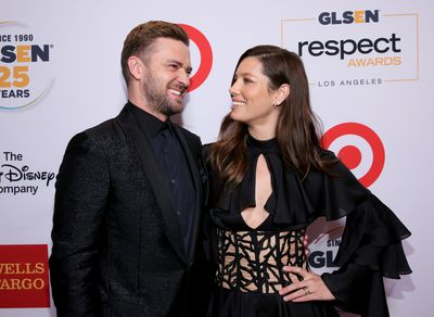 Justin and Jess at the 2015 GLSEN Respect Awards.