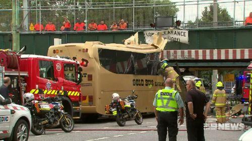 Six of 14 passengers onboard the Gold Ballarat Bus were injured.