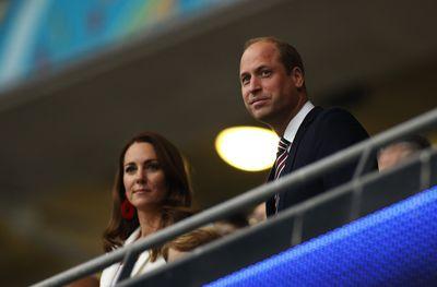 Royals watch nervously