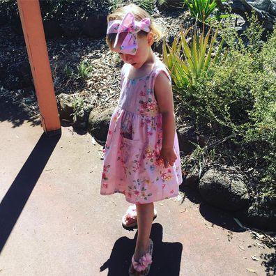 Davina Smith on daughter's sleep disorder.