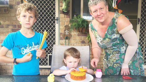 Ms Odgers said she was left thinking essential childcare for her children could be cut off at any moment because of a mistake made by Centrelink.