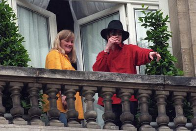 Michael Jackson met his baby mama Debbie Rowe when she worked as a nurse at Jacko's dermatologist, Dr Arnold Klein. The pair married in Australia in 1996, and Debbie carried all three of Michael's children. Three years later, they divorced, and Michael was given full custody of the kids.<br/><br/>Image: Getty