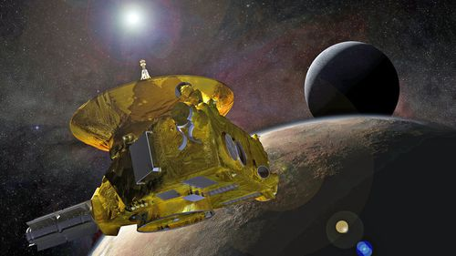 A NASA probe has completed the most distance exploration of another object in space, taking a photograph of a celestial body 6.5 billion kilometres away from Earth.
