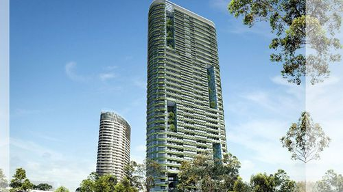 Residents of Opal Tower in Sydney's Olympic Park started leaving after hearing cracking.