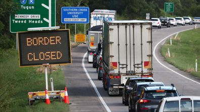 Queensland border closure.