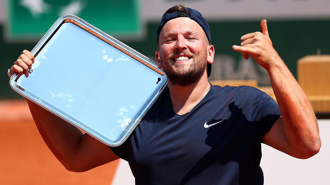Dylan Alcott defeats Sam Schroder to claim third consecutive Roland-Garros title