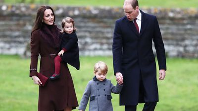 Princess Charlotte and family, December 2016
