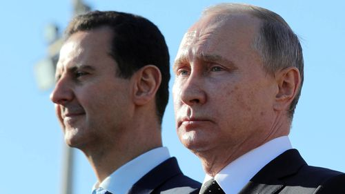 Syrian President Bashar al Assad is accused of conducting chemical attacks against his own people, but is supported by Russian President Vladimir Putin.