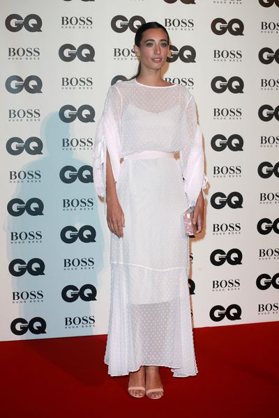 Laura Jackson in Osman at the British GQ Men of the Year Awards