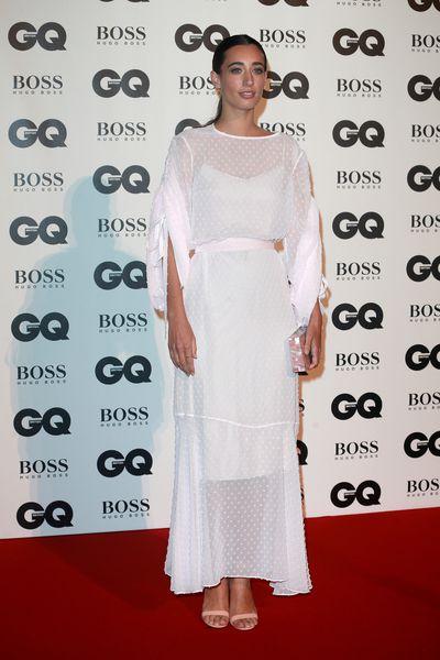 Laura Jackson in Osmanat the BritishGQMen of the Year Awards