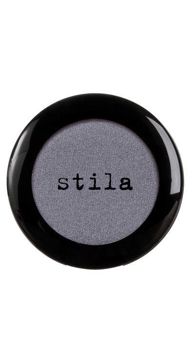 """<a href=""""http://mecca.com.au/stila/eye-shadow-compact/V-011379.html?cgpath=makeup-eyes-eyeshadow#start=1"""" target=""""_blank"""">Eye Shadow Compact in Pewter, $26, Stila.</a>"""