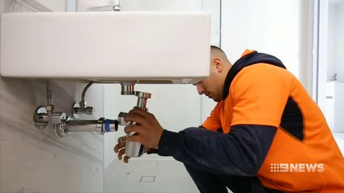 Companies such as Red Energy, Allianz, the Commonwealth Bank, and Macquarie Group have pledged to provide working opportunities within their organisations. Picture: 9NEWS