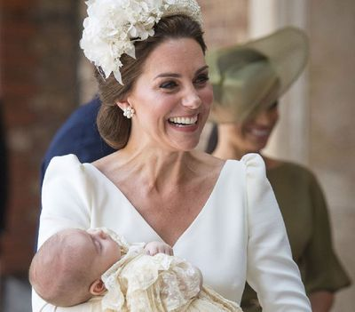 """The Duchess of Cambridge is a proud mum<span style=""""white-space: pre;""""></span>"""