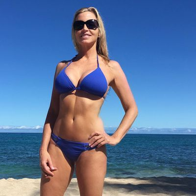 Camille Grammer shares sexy holiday snaps at 50