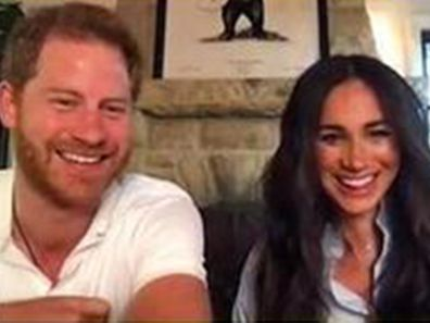 Prince Harry and Meghan Markle surprise poetry class