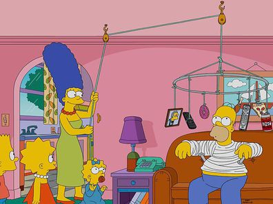 Homer Simpson in the 'The Simpsons'