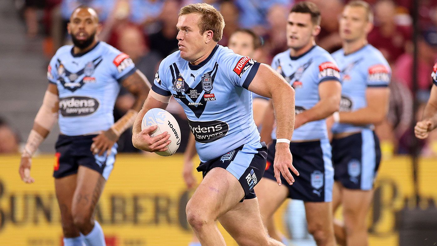 Jake Trbojevic ruled out for Origin Game II, Angus Crichton back in contention says Blues coach Brad Fittler
