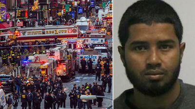 New York subway bomb suspect charged with terror offences