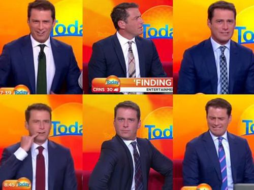 Karl Stefanovic's 'stanky' suit that he wore for an entire year up for sale on eBay