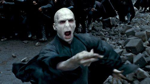 Harry Potter villain, Lord Voldemort. (Warner Bros)