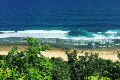 Nyang Nyang Beach<br /> Keen for a beach all to yourself?<br /> With its pristine white sands and towering green cliff, it's still a mystery as to why tourists haven't discovered Nyang Nyang Beach.<br /> This secluded location in Southern Bali is perfect for some seaside yoga and solitude.<br /> Image/Instagram @kos_82