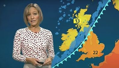 Ruth Dodsworth ITV weather presenter